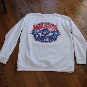 Authentic Blue Jays World Series Sweatshirt XL